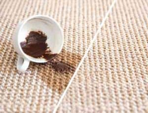 carpet cleaning Ipswich coffee stains cleaned