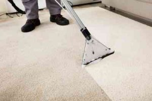 Steam cleaning carpets at carpet cleaning Ipswich